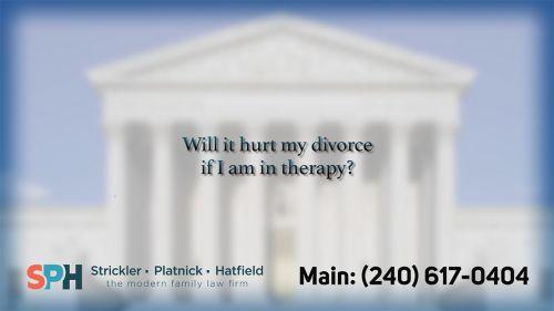Will it hurt my divorce i…