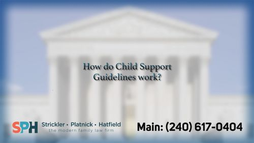 How do child support guid…