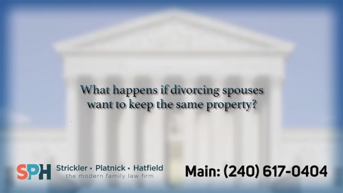 What happens if divorcing…