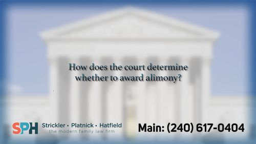 How does the court determ…