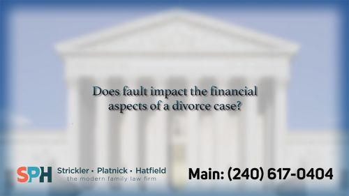 Does fault impact the fin…